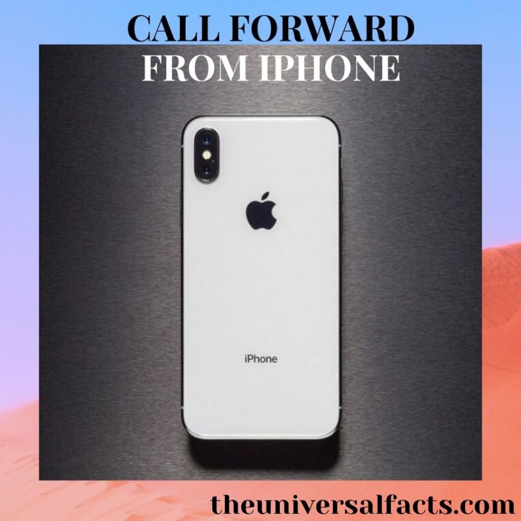 Call Forward From iPhone