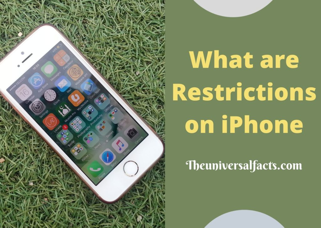 what is iPhone restrictions
