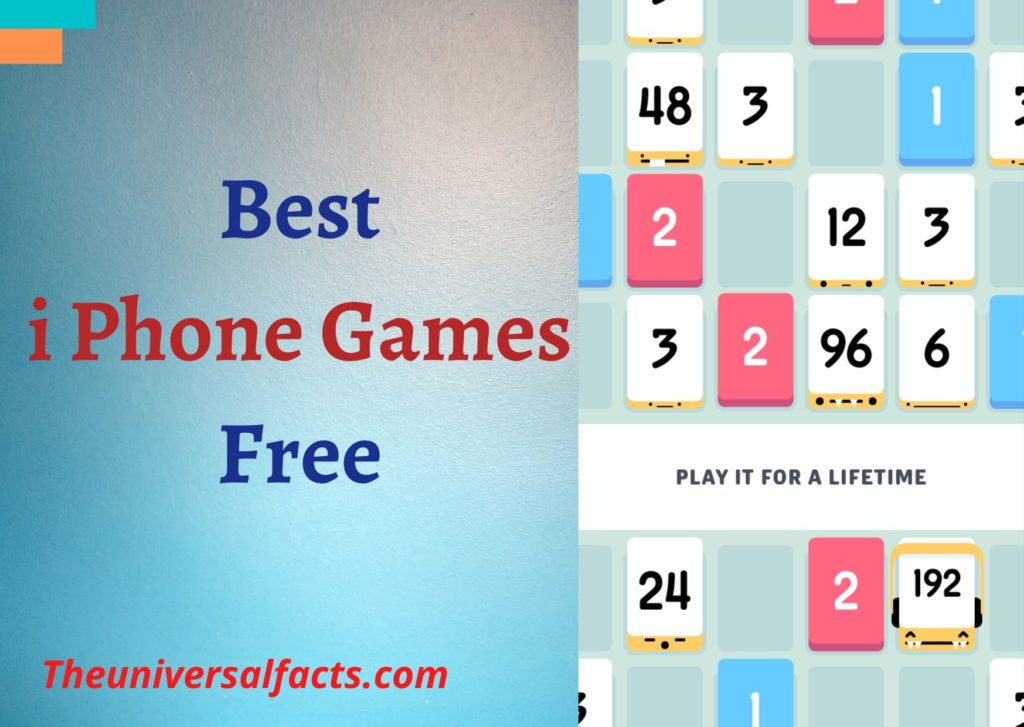 Best i Phone Games Free