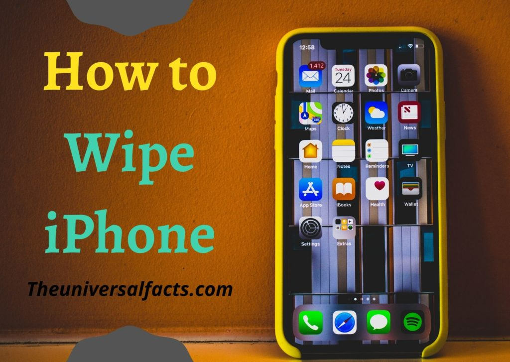 How to Wipe iPhone