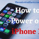 How to Power off iPhone X