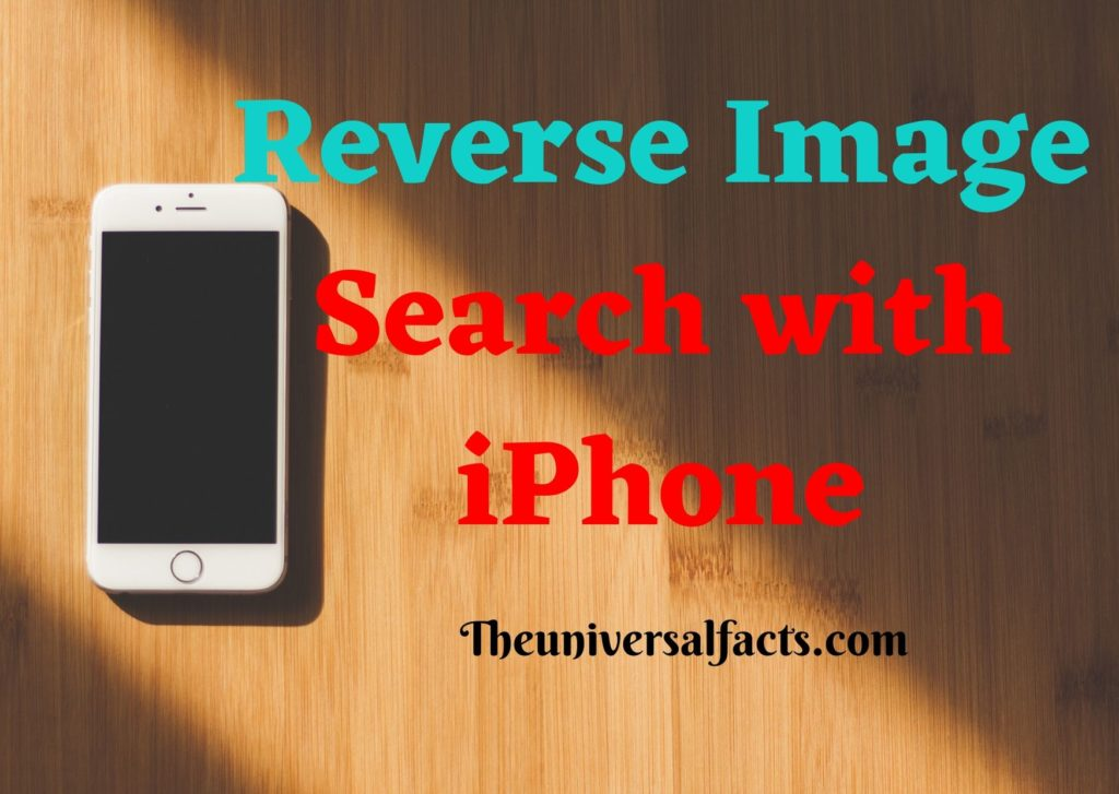 Reverse Image Search with iPh