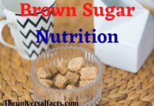 Brown Sugar Nutrition