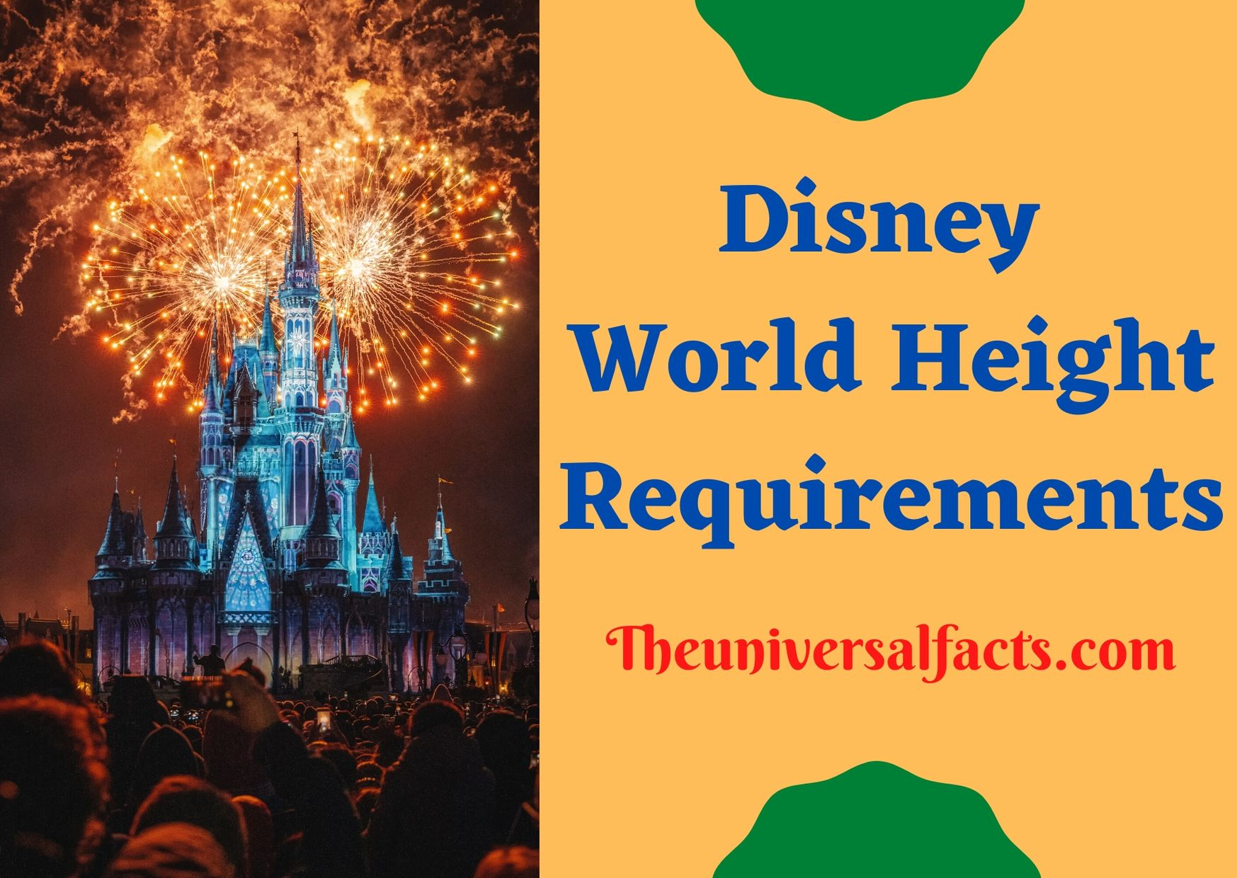 Disney World Height Requirements