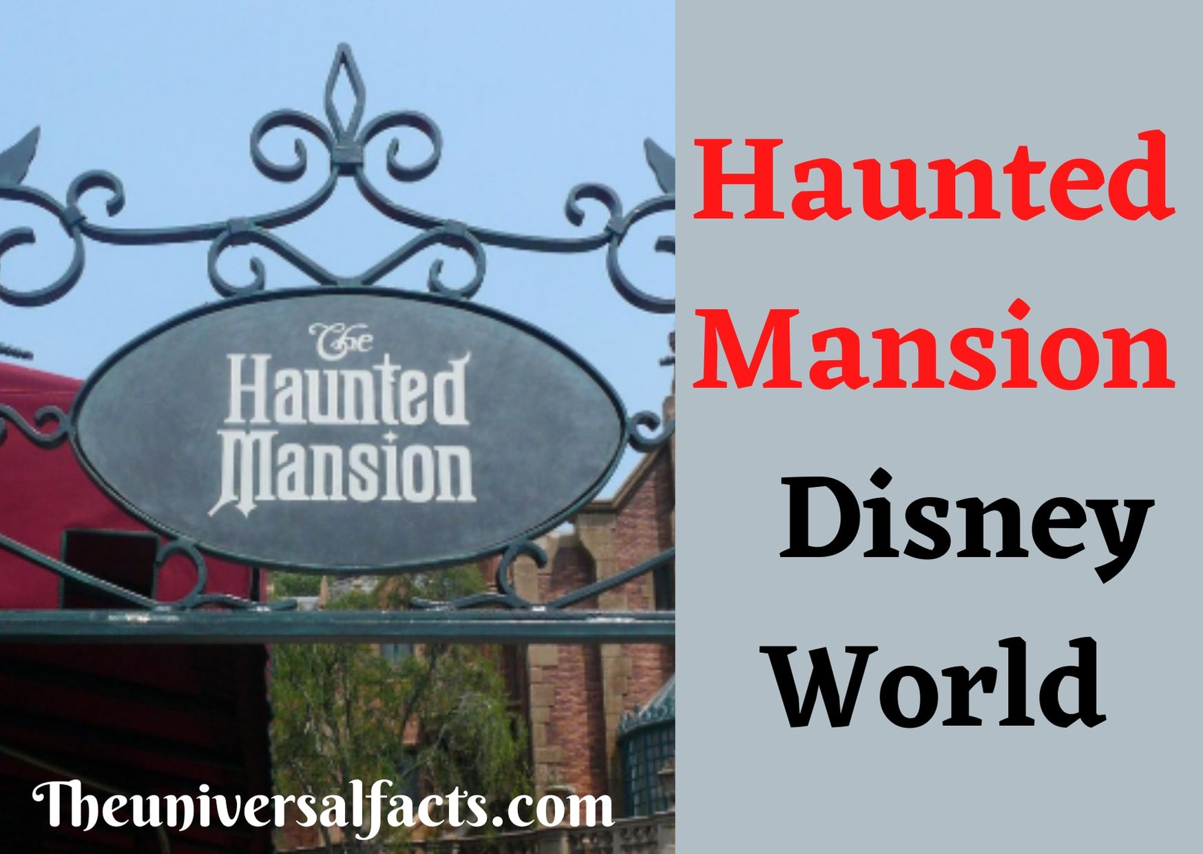 Haunted Mansion Disney World