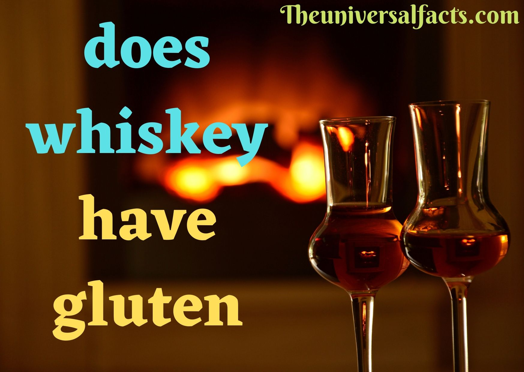 Does Whiskey Have Gluten